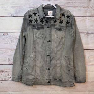 LuLaRoe Jaxon Denim Jacket, SZ XL